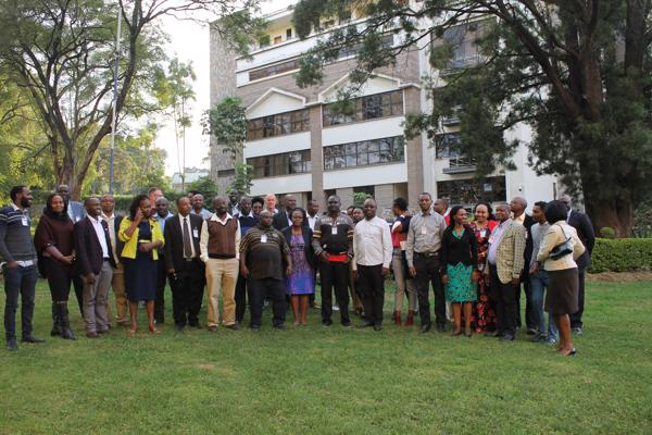 African Leadership Centre co-hosted workshop attendees, Nairobi