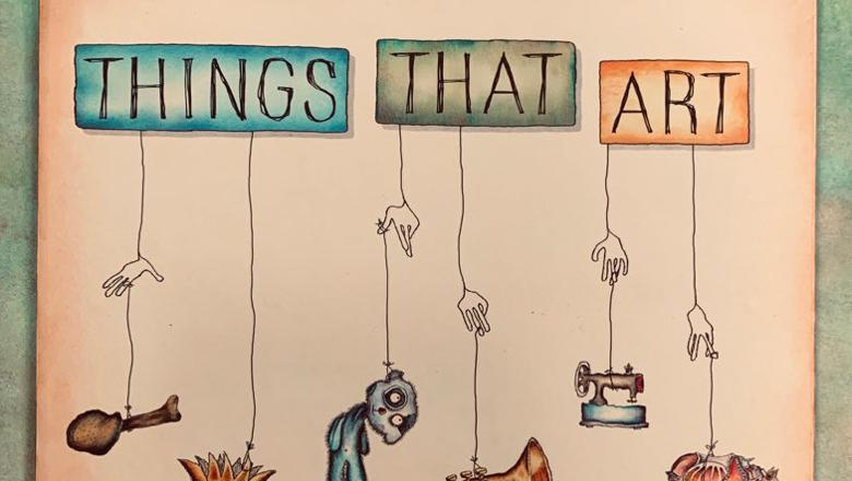 Cover of Lochlann Jain's Things That Art