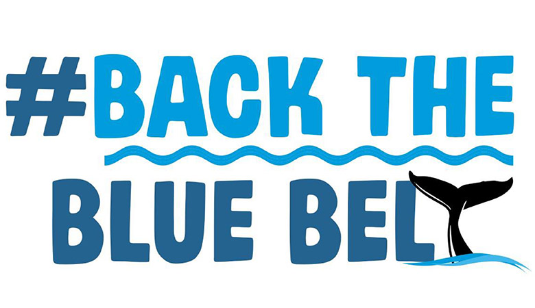 #BackThe BlueBelt Sign