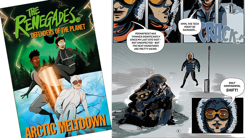 Renegades cover and inside pages
