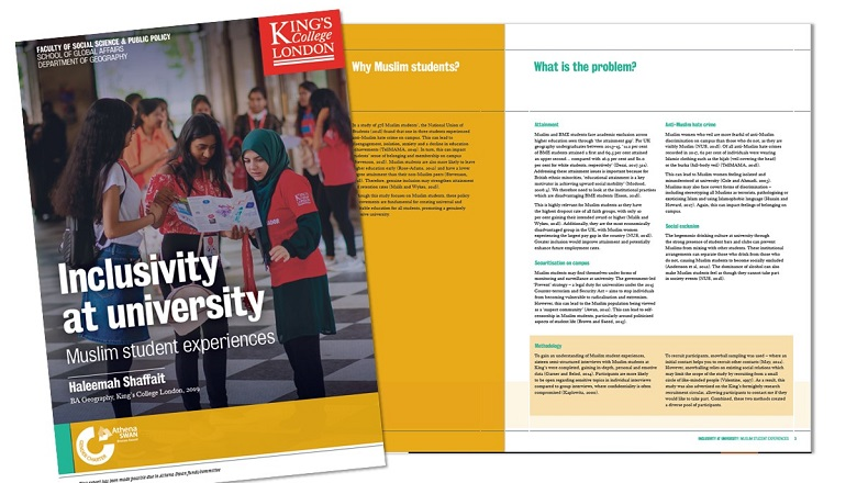 policy brief front cover and inside pages