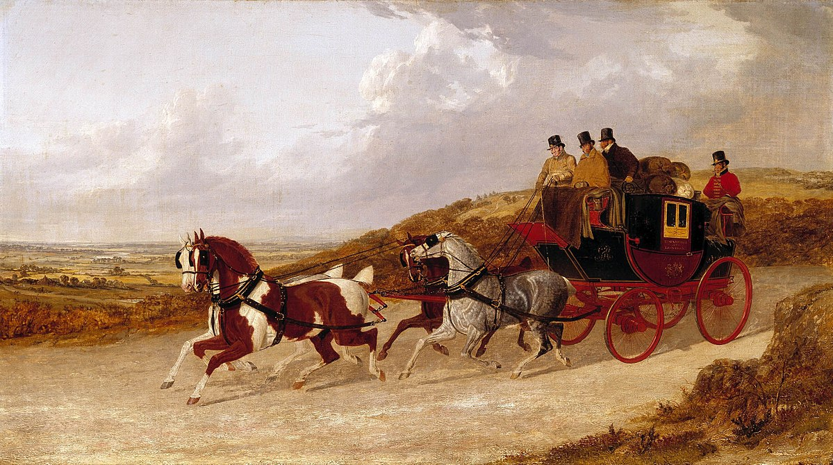 The Edinburgh and London Royal Mail by John Frederick Herring Sr
