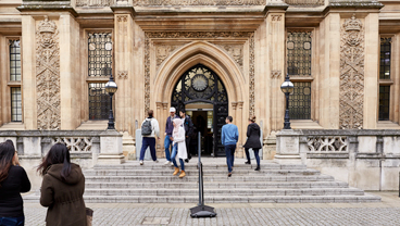 Maughan library entrance, King's College London