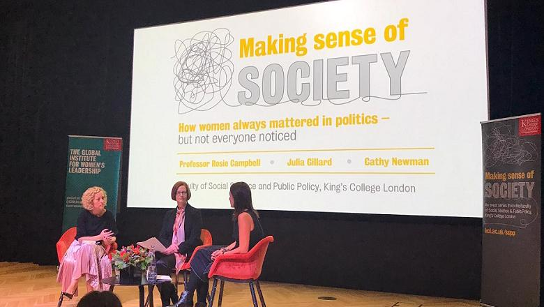 Making Sense of Society event with Prof Rosie Campbell