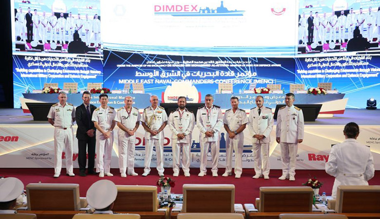 At the DIMDEX conference 2018