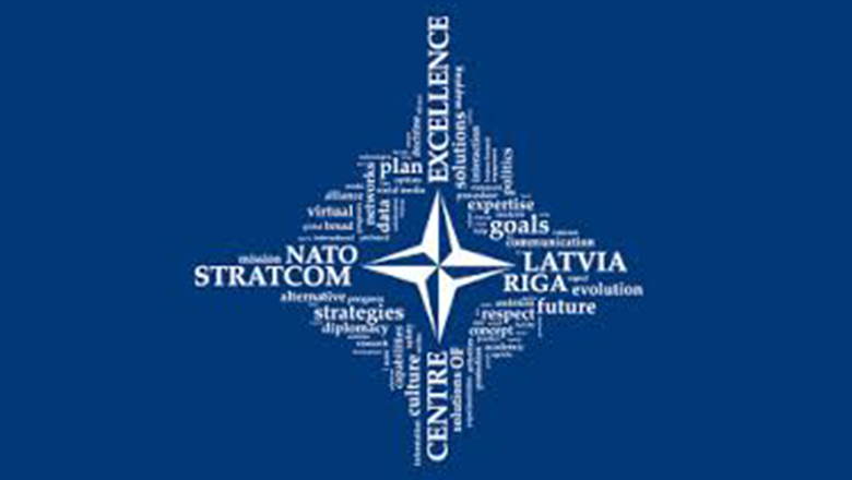 NATO Strategic Communications Centre of Excellence logo