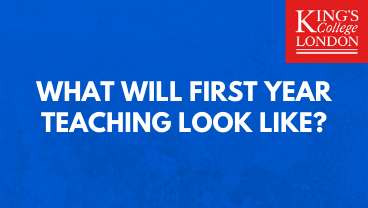 What will first year teaching look like?